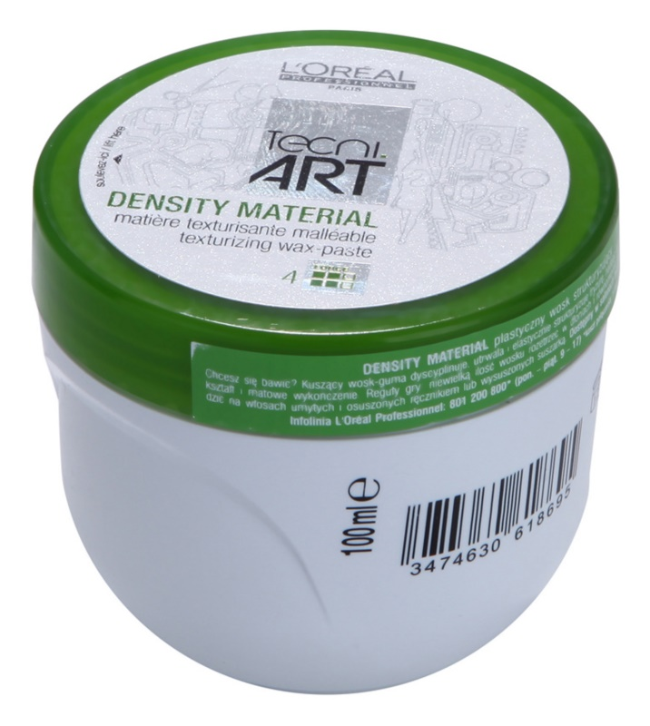 L'Oréal Professionnel Tecni Art Volume pomada texturizante fijación fuerte