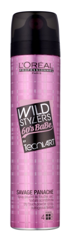 L'Oréal Professionnel Tecni Art Wild Stylers Powder Spray with Volume Effect