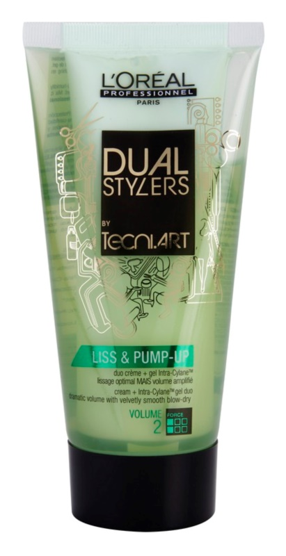 L'Oréal Professionnel Tecni Art Dual Stylers Gel-Cream For Smooth Styling And Volume