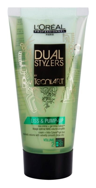 L'Oréal Professionnel Tecni Art Dual Stylers Gel-Creme für glattes Styling und Volumen