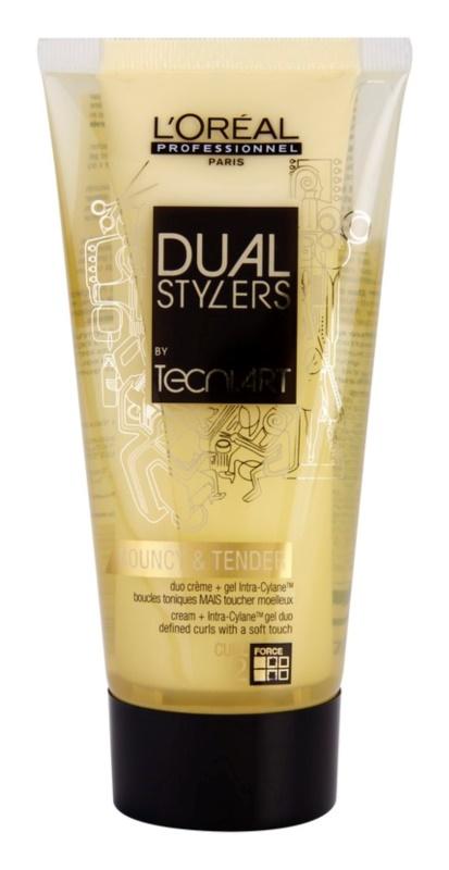 L'Oréal Professionnel Tecni Art Dual Stylers crema gel pentru formarea buclelor