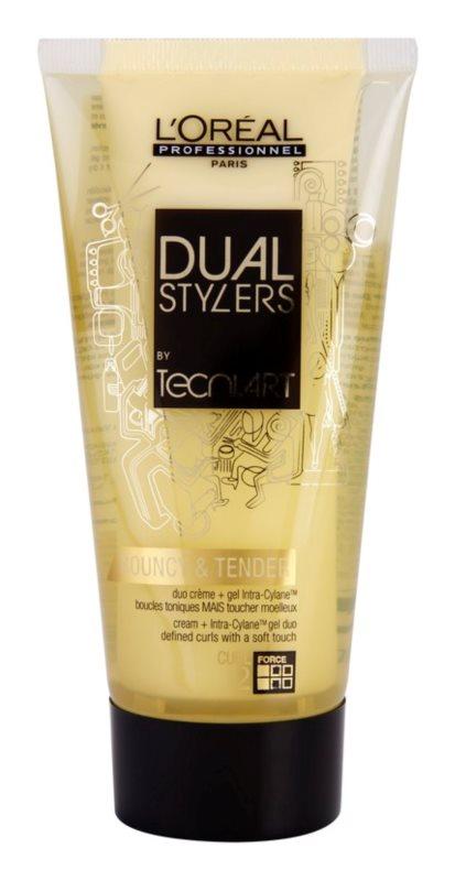 L'Oréal Professionnel Tecni Art Dual Stylers gélový krém pre vytvarovanie vĺn