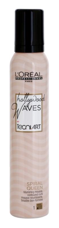 L'Oréal Professionnel Tecni Art Hollywood Waves Styling Mousse  voor Flexibele Krullen