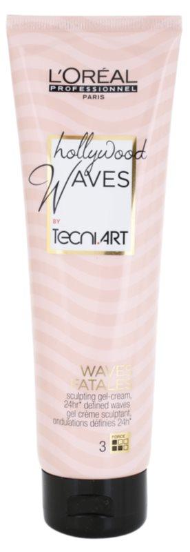 L'Oréal Professionnel Tecni Art Hollywood Waves Gel-Creme für Definition und Form