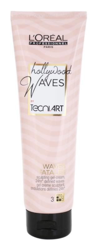 L'Oréal Professionnel Tecni Art Hollywood Waves żel-krem modelujący