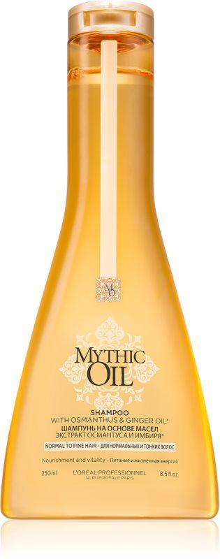 L'Oréal Professionnel Mythic Oil szampon do włosów normalnych i cienkich