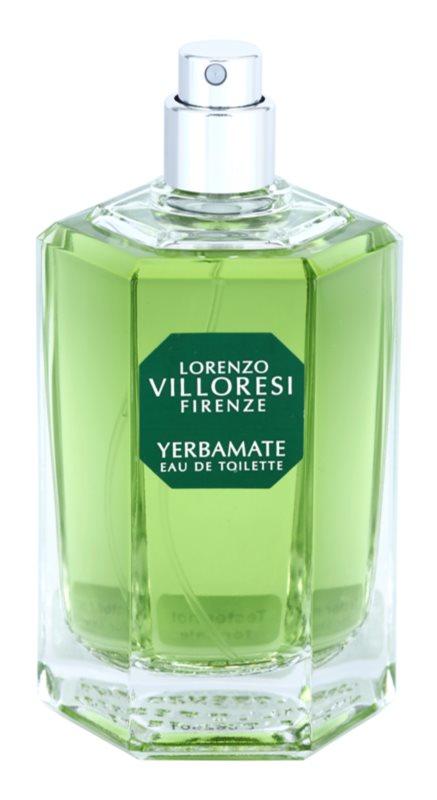 Lorenzo Villoresi Yerbamate toaletní voda tester unisex 100 ml