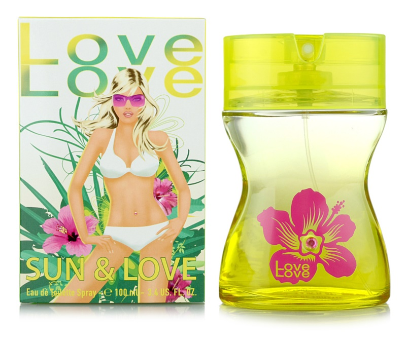 Love Love Sun & Love toaletní voda pro ženy 100 ml
