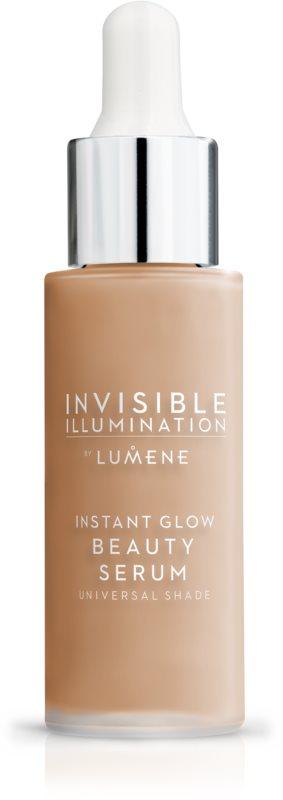Lumene Invisible Illumination okamžitě rozjasňující sérum - make-up pro všechny typy pleti