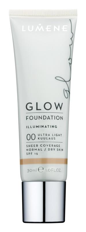 Lumene Nordic Chic Glow baza pentru machiaj cu efect de hidratare