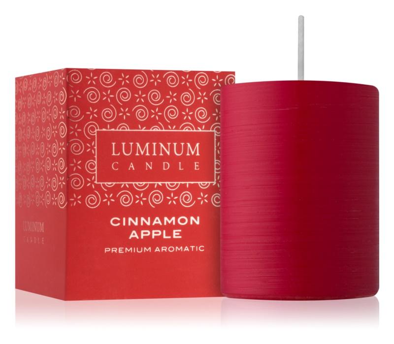 Luminum Candle Premium Aromatic Cinnamon Apple vela perfumada    mediano (Ø 60 - 80 mm, 32 h)