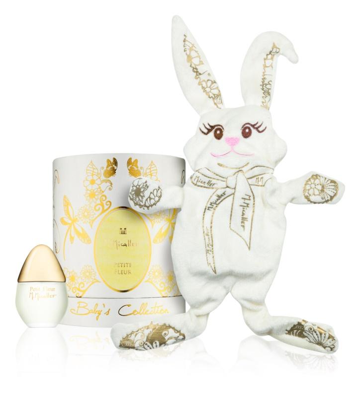 M. Micallef Baby's Collection Petite Fleur eau de parfum para crianças 30 ml + brinquedo