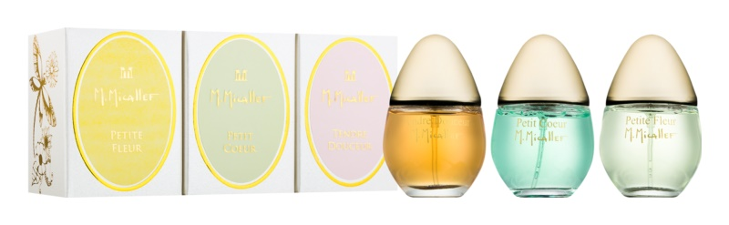 M. Micallef Baby's Collection Geschenkset I. Petite Fleur, Petit Coeur, Tendre Douceur