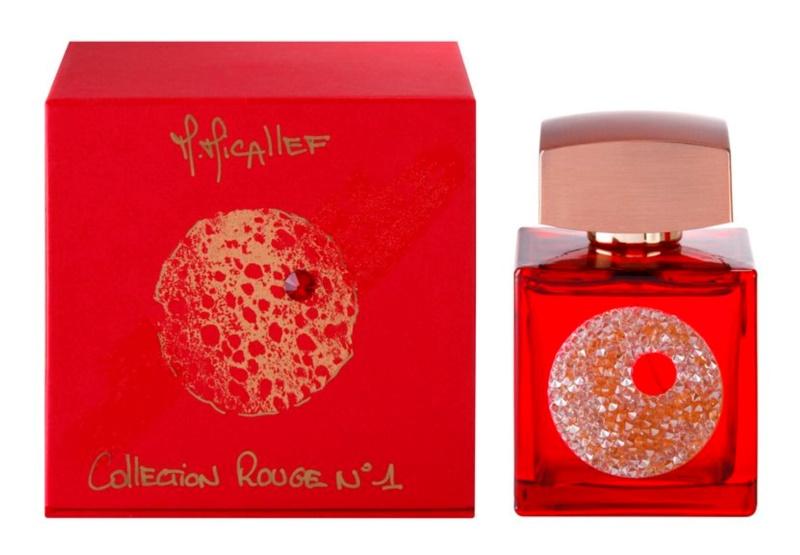 M. Micallef Collection Rouge N°1 eau de parfum para mujer 100 ml