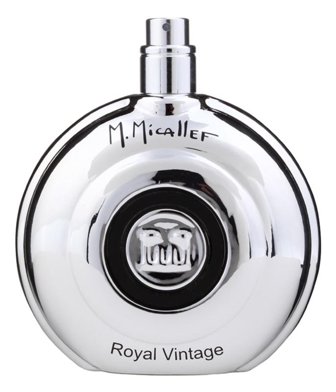 M. Micallef Royal Vintage parfémovaná voda tester pro muže 100 ml