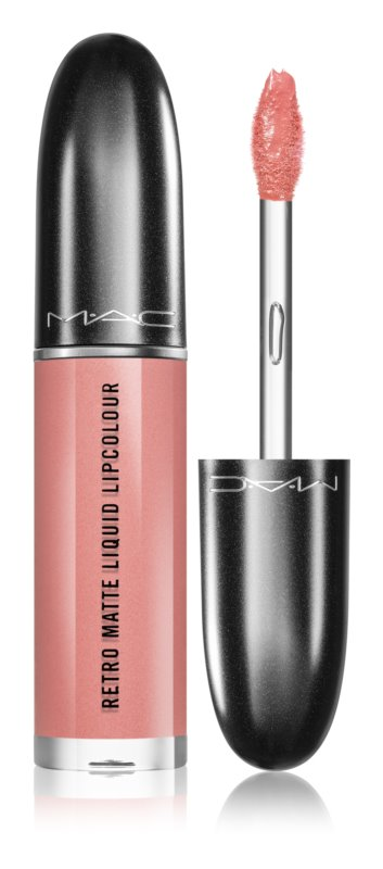 MAC Retro Matte Liquid Lipcolour Matte Lipstick with Metallic Effect