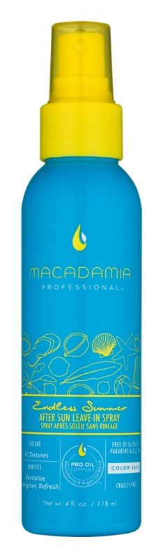 Macadamia Natural Oil Endless Summer Sun & Surf regenerujący spray do włosów po opalaniu