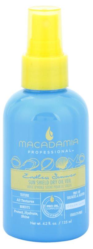 Macadamia Natural Oil Endless Summer ulei uscat pentru par expus la soare