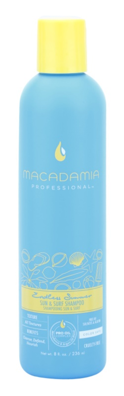 Macadamia Natural Oil Endless Summer Shampoo for Hair Damaged by Chlorine, Sun & Salt