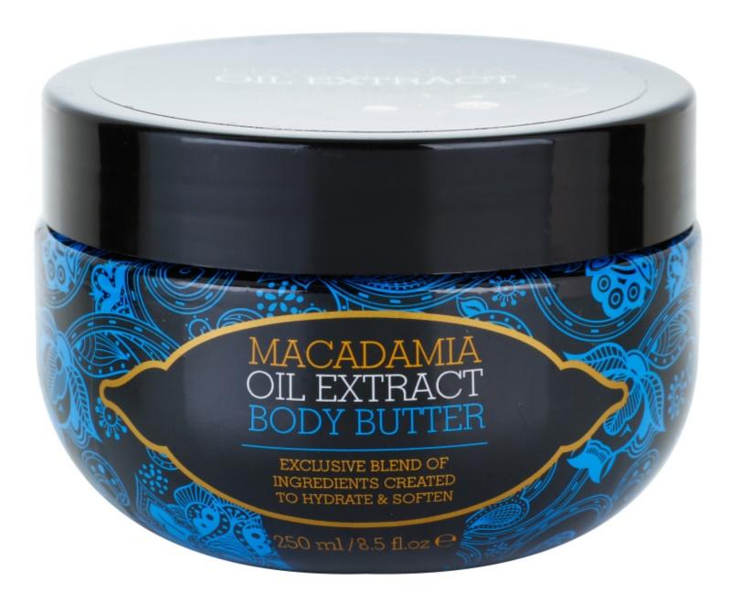 Macadamia Oil Extract Exclusive tápláló vaj a testre minden bőrtípusra
