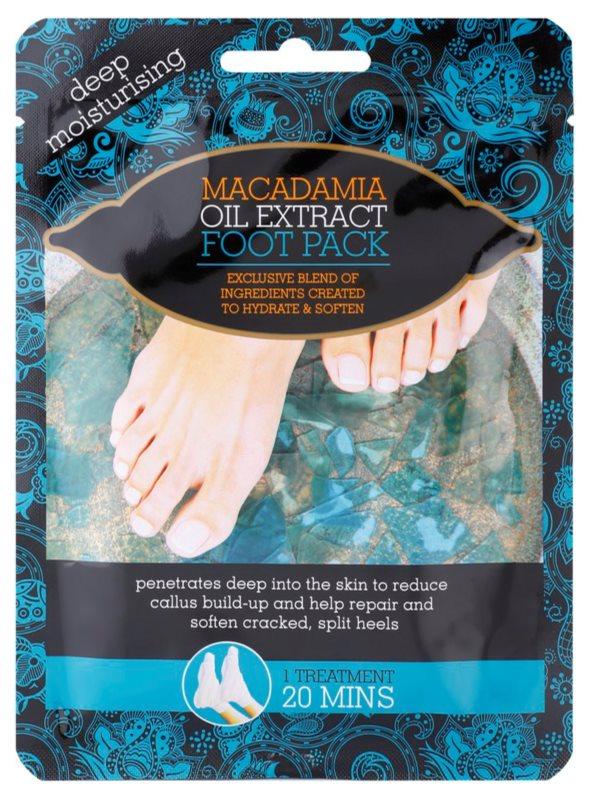 Macadamia Oil Extract Pack Moisturizer-Socks
