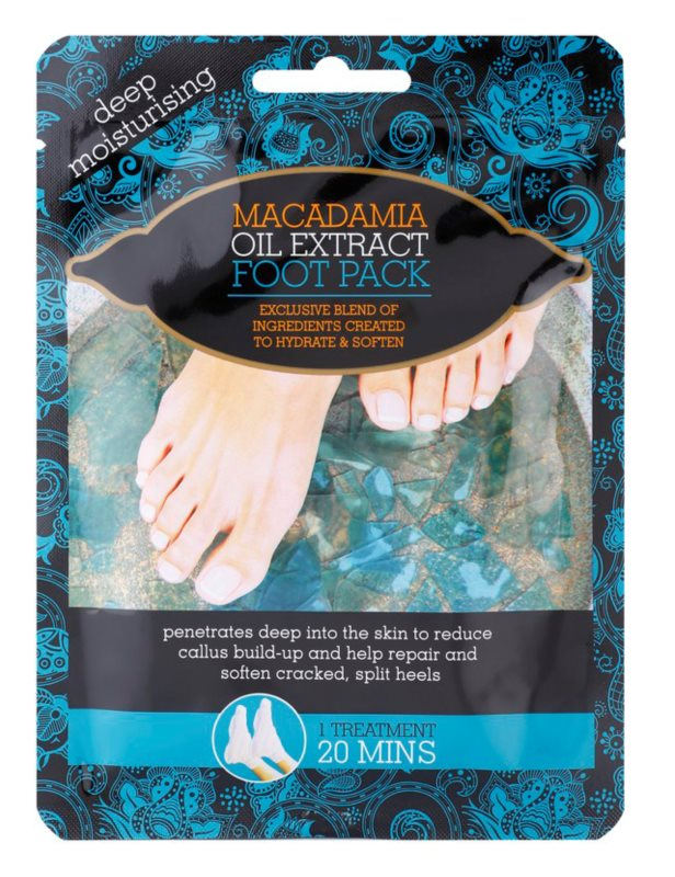Macadamia Oil Extract Pack зволожуючі шкарпетки