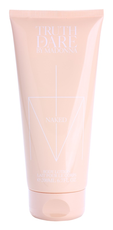 Madonna Truth or Dare by Madonna Naked Body Lotion for Women 200 ml