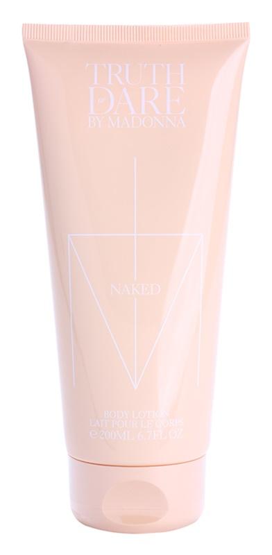 Madonna Truth or Dare by Madonna Naked lapte de corp pentru femei 200 ml