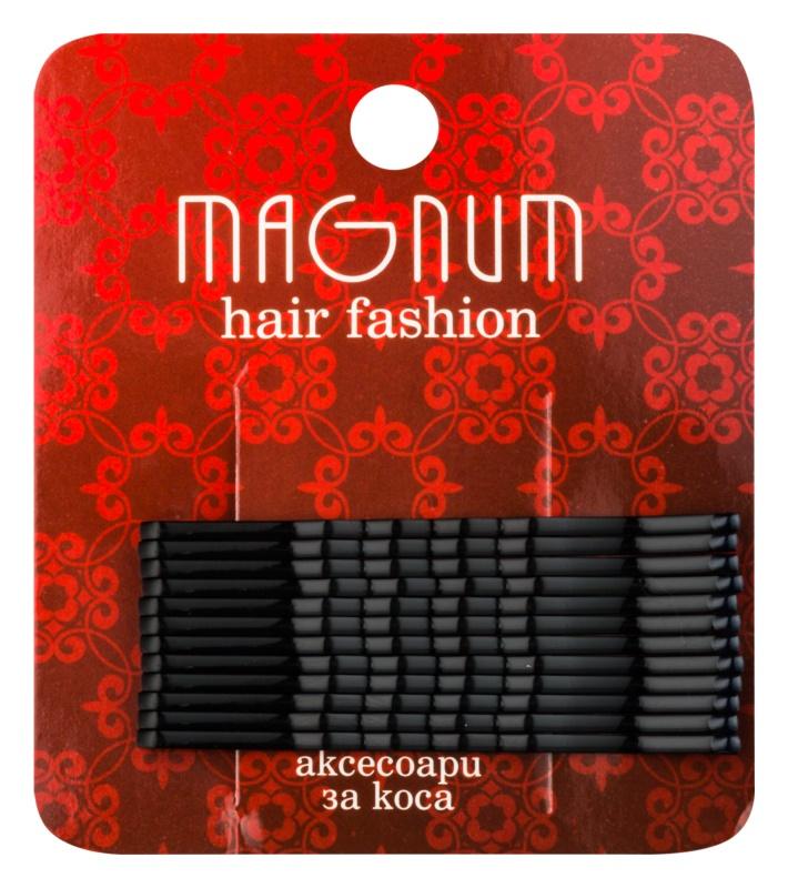 Magnum Hair Fashion pinetky do vlasov čierna