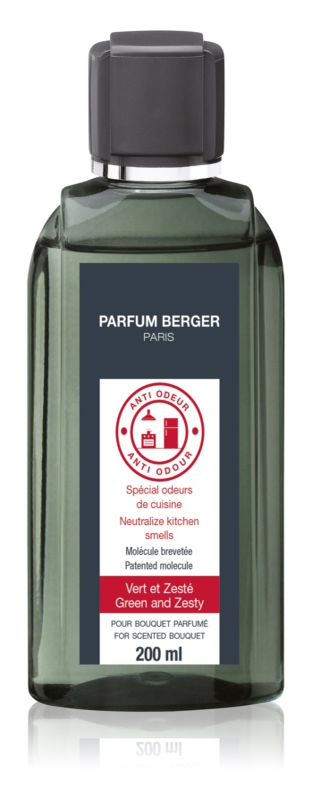 Maison Berger Paris Anti Odour Kitchen náplň do aroma difuzérů 200 ml  (Green and Zesty)