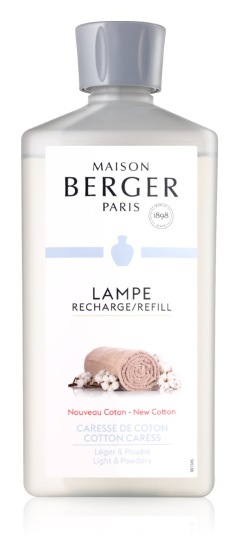Maison Berger Paris Catalytic Lamp Refill Cotton Caress rezervă lichidă pentru lampa catalitică  500 ml
