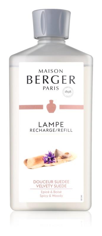 Maison Berger Paris Catalytic Lamp Refill Velvety Suede katalitikus lámpa utántöltő 500 ml