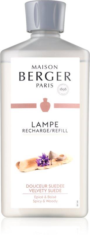 Maison Berger Paris Catalytic Lamp Refill Velvety Suede rezervă lichidă pentru lampa catalitică  500 ml