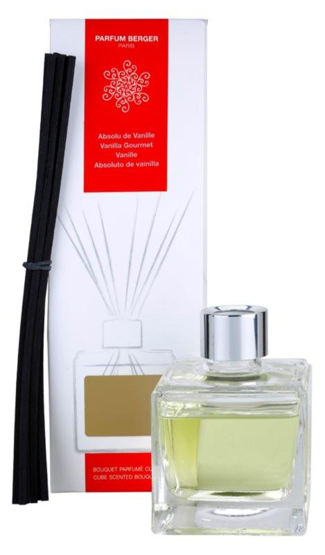 Maison Berger Paris Cube Scented Bouquet Vanilla Gourmet aroma difuzor cu rezervã 125 ml
