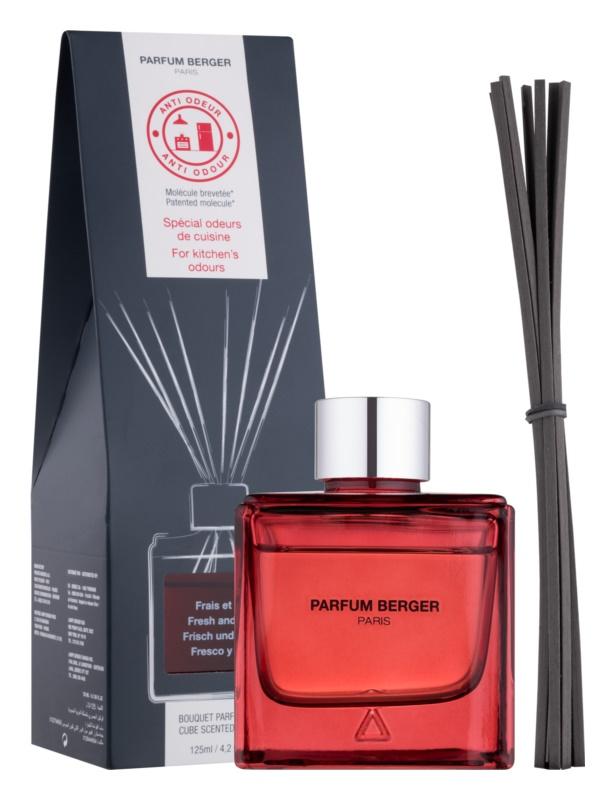 Maison Berger Paris Anti Odour Kitchen aroma difuzér s náplní 125 ml  (Fresh and Floral)