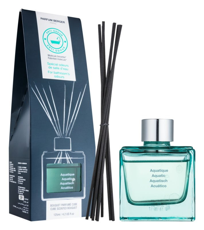 Maison Berger Paris Anti Odour Bathroom aroma diffúzor töltelékkel 125 ml  (Aquatic)