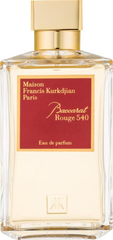 Maison Francis Kurkdjian Baccarat Rouge 540 eau de parfum unisex 200 ml