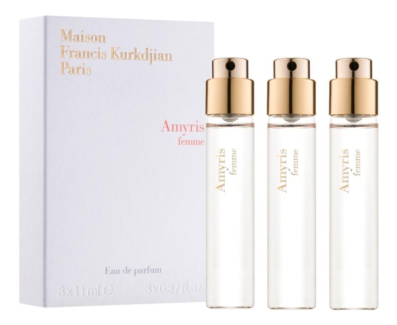 Maison Francis Kurkdjian Amyris Femme Eau de Parfum for Women 3 x 11 ml Refill
