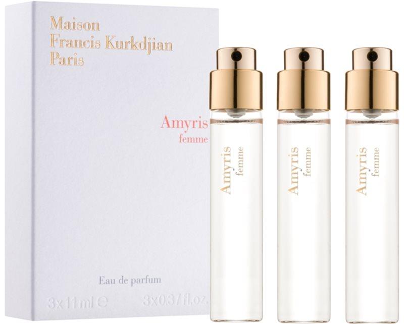 Maison Francis Kurkdjian Amyris Femme eau de parfum pentru femei 3 x 11 ml rezerva