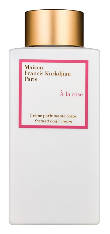 Maison Francis Kurkdjian A la Rose crema de corp pentru femei 250 ml