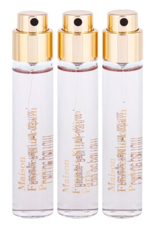 Maison Francis Kurkdjian Féminin Pluriel eau de parfum pentru femei 3 x 11 ml rezerva