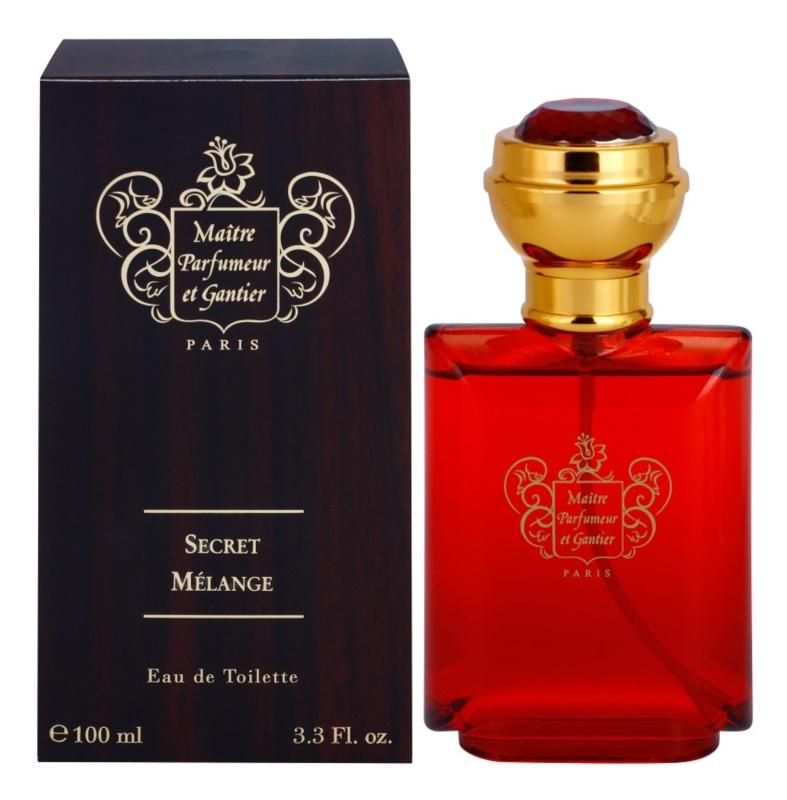 Maitre Parfumeur et Gantier Secret Mélange Eau de Toilette für Herren 100 ml