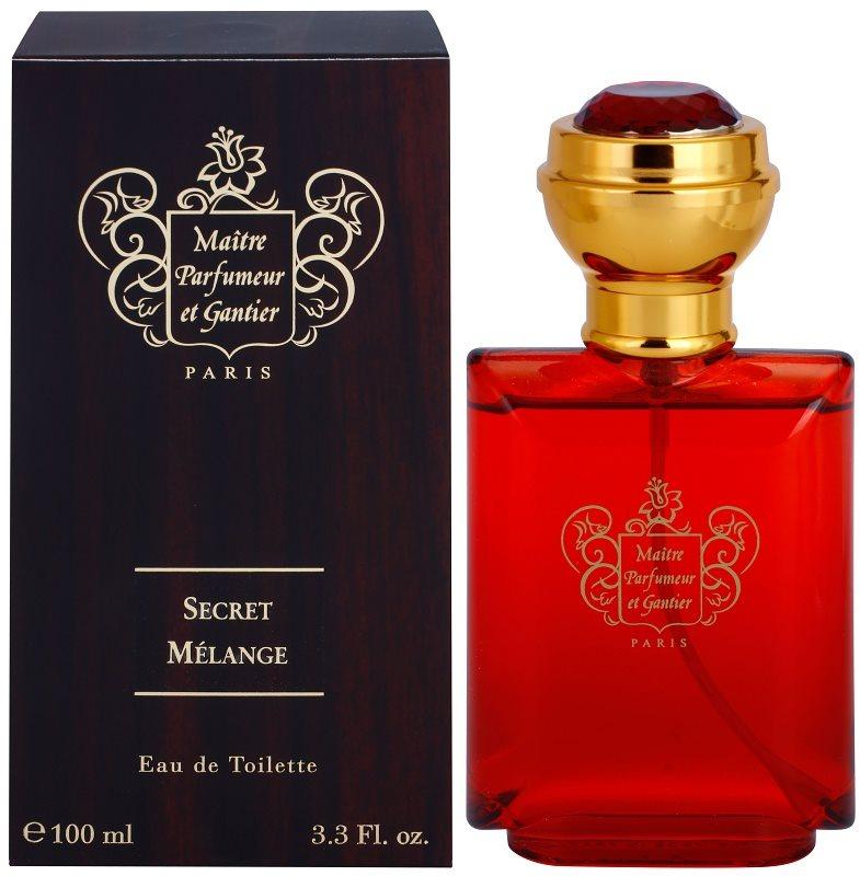 Maitre Parfumeur et Gantier Secret Mélange Eau de Toilette para homens 100 ml