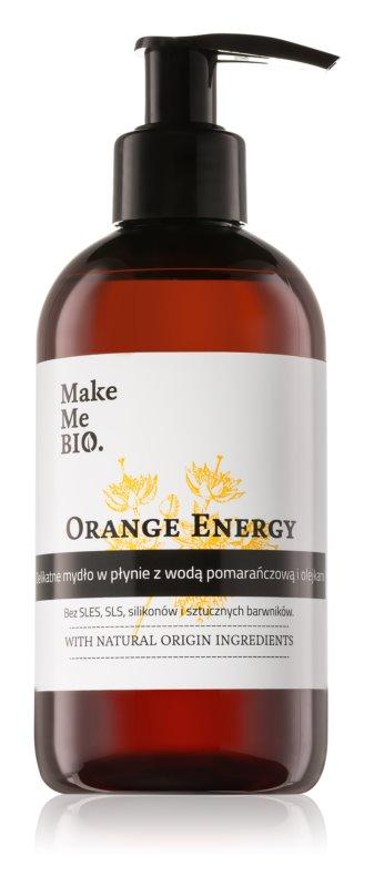 Make Me BIO Orange Energy Nourishing Liquid Soap With Pump