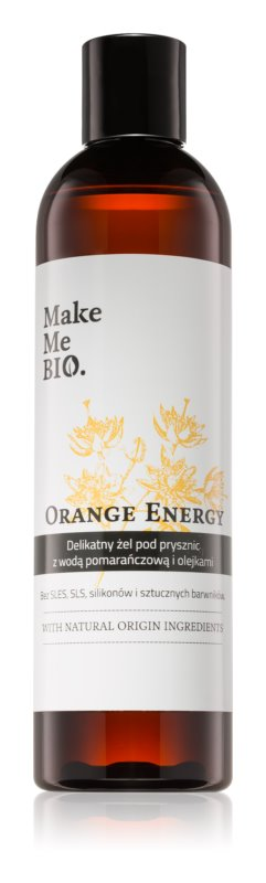 Make Me BIO Orange Energy osvežujoč gel za prhanje z vlažilnim učinkom