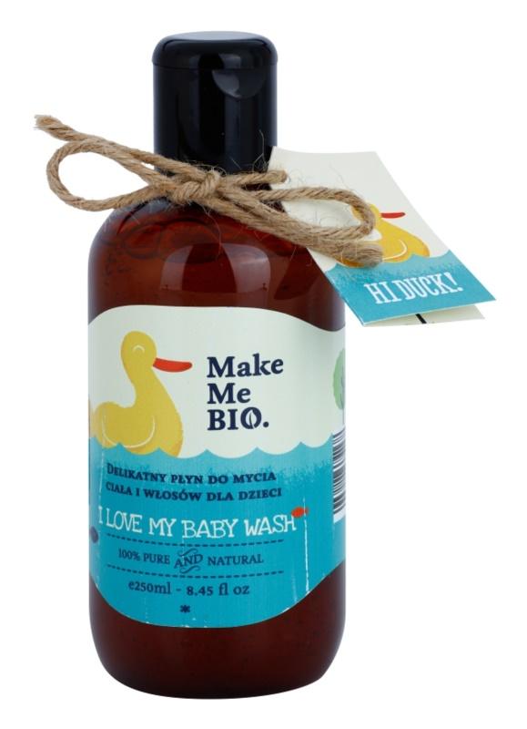 Make Me BIO Baby Care gel de limpeza suave para o cabelo e corpo para crianças