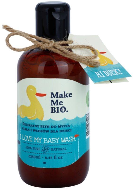 Make Me BIO Baby Care sanftes Reinigungsgel für Körper und Haare für Kinder