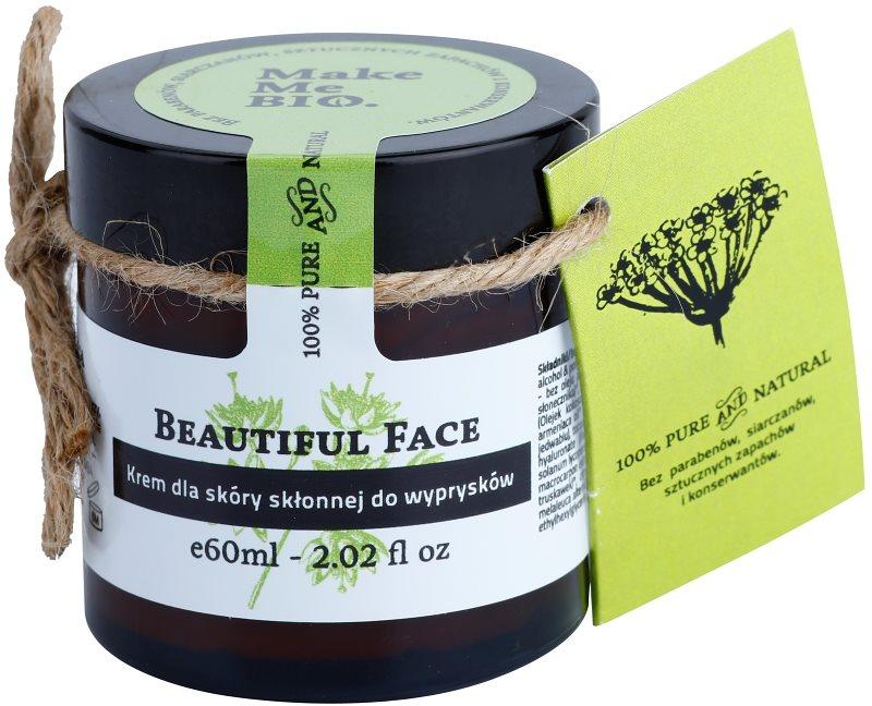 Make Me BIO Face Care Beautiful Face ľahký denný krém pre pleť s nedokonalosťami