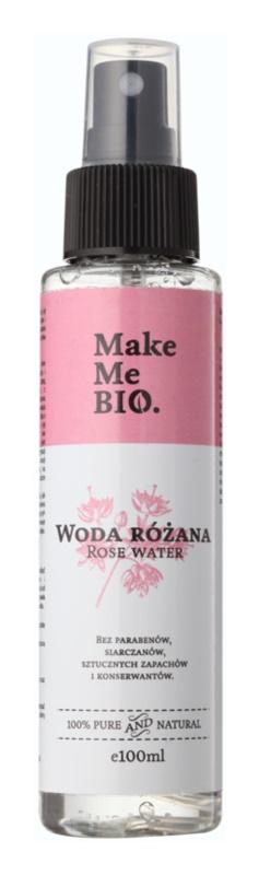 Make Me BIO Face Care rózsavíz a bőr intenzív hidratálásához