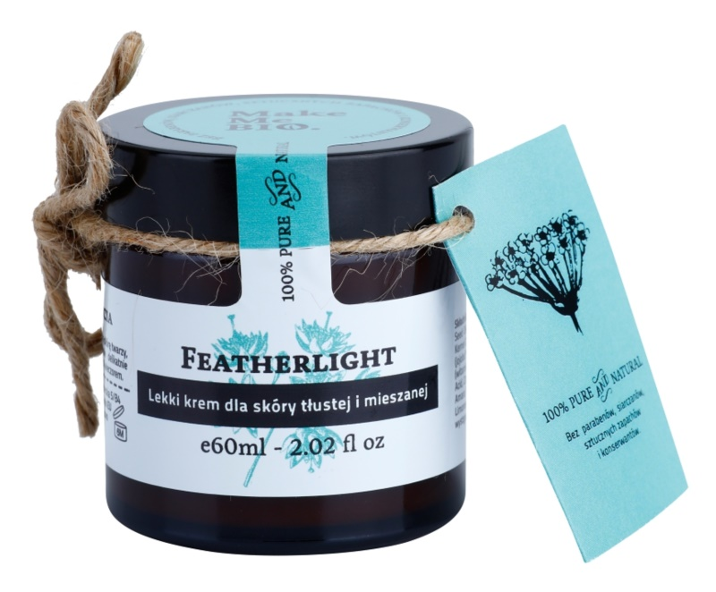 Make Me BIO Face Care Featherlight Light Cream for Oily and Combiantion Skin